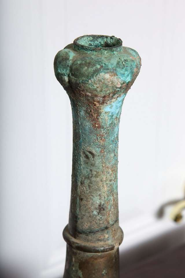 2000 Year Old Bronze Ritual Vessel 5