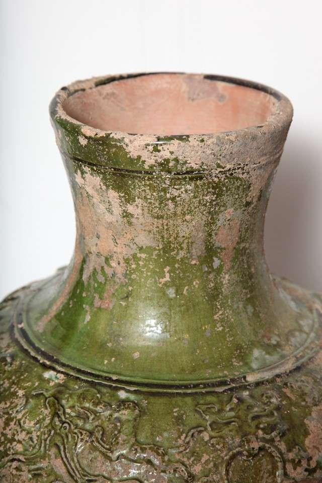 Han Dynasty Green Glaze Vase At 1stdibs