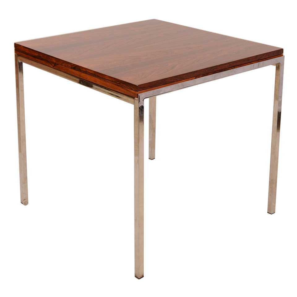 rosewood expandable dining table at 1stdibs. Black Bedroom Furniture Sets. Home Design Ideas