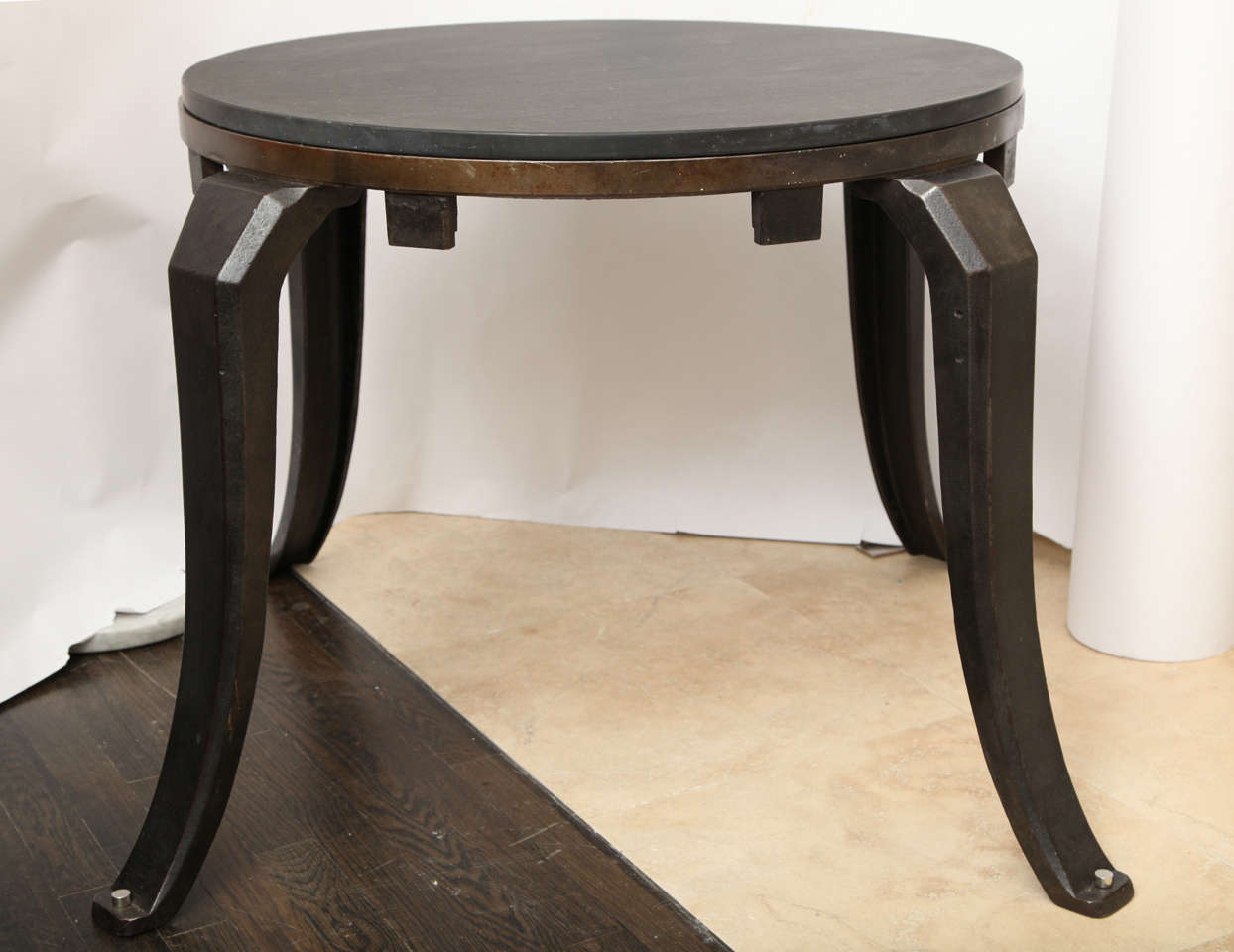 Industrial ArchitecturalI iron Table 1930's 2 Available