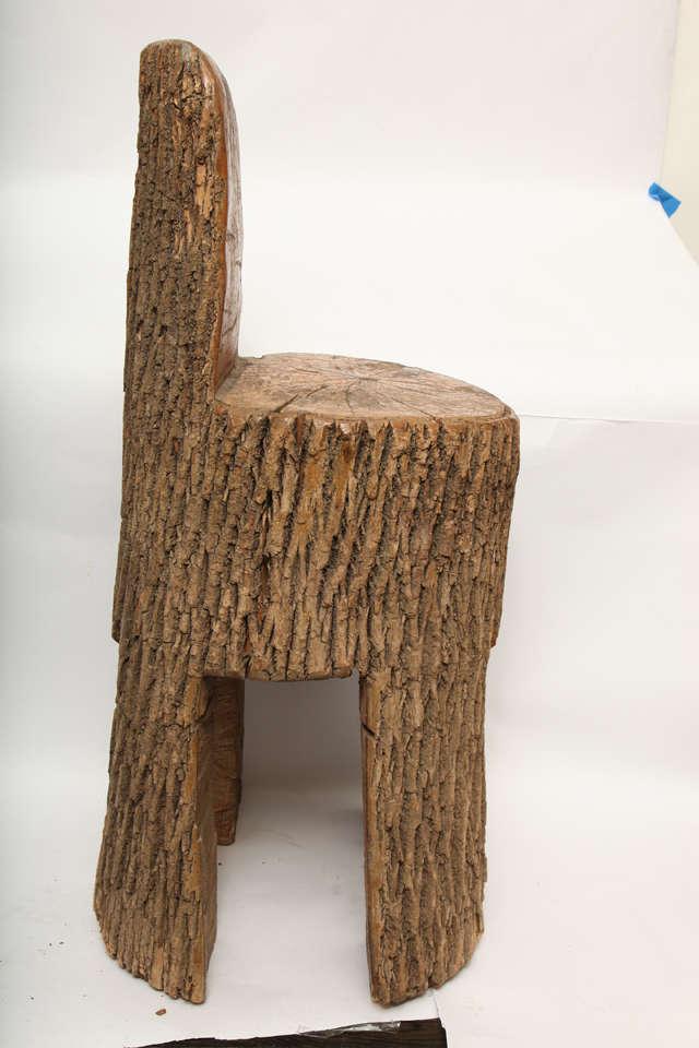 A 1940 S Sculptural Wood Chair At 1stdibs