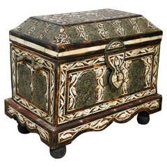 Vintage Inlaid Moroccan Box