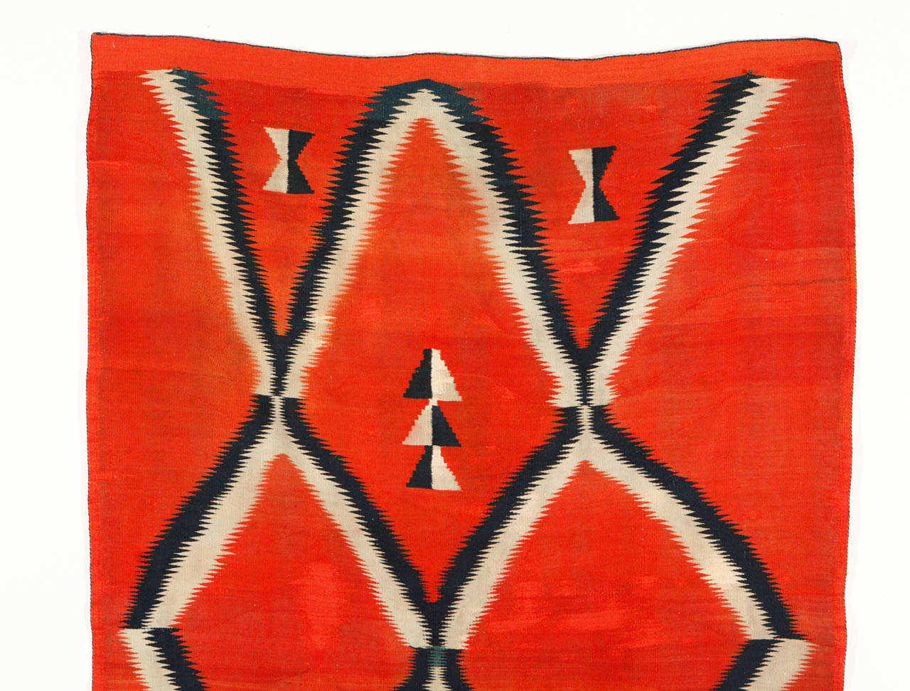 Native American 19th Century, Navajo Transitional Blanket For Sale
