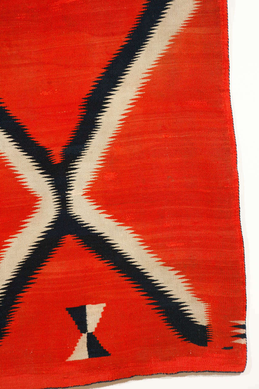 19th Century, Navajo Transitional Blanket For Sale 1