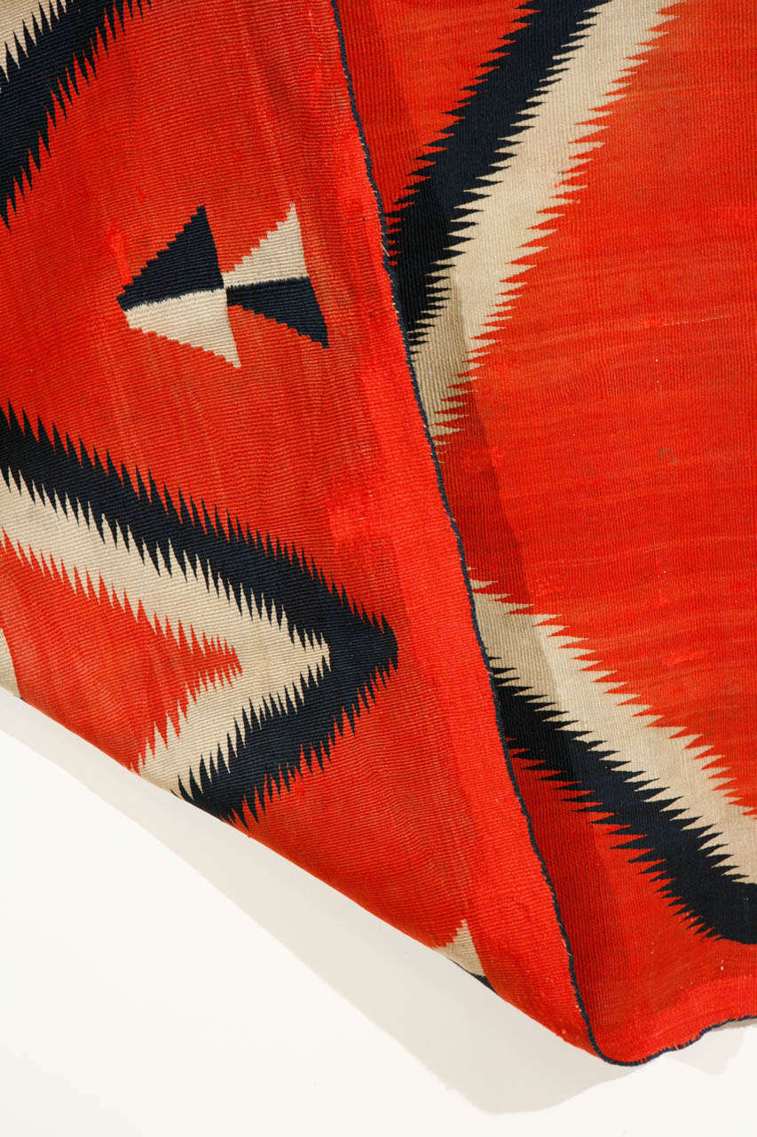 19th Century, Navajo Transitional Blanket For Sale 2