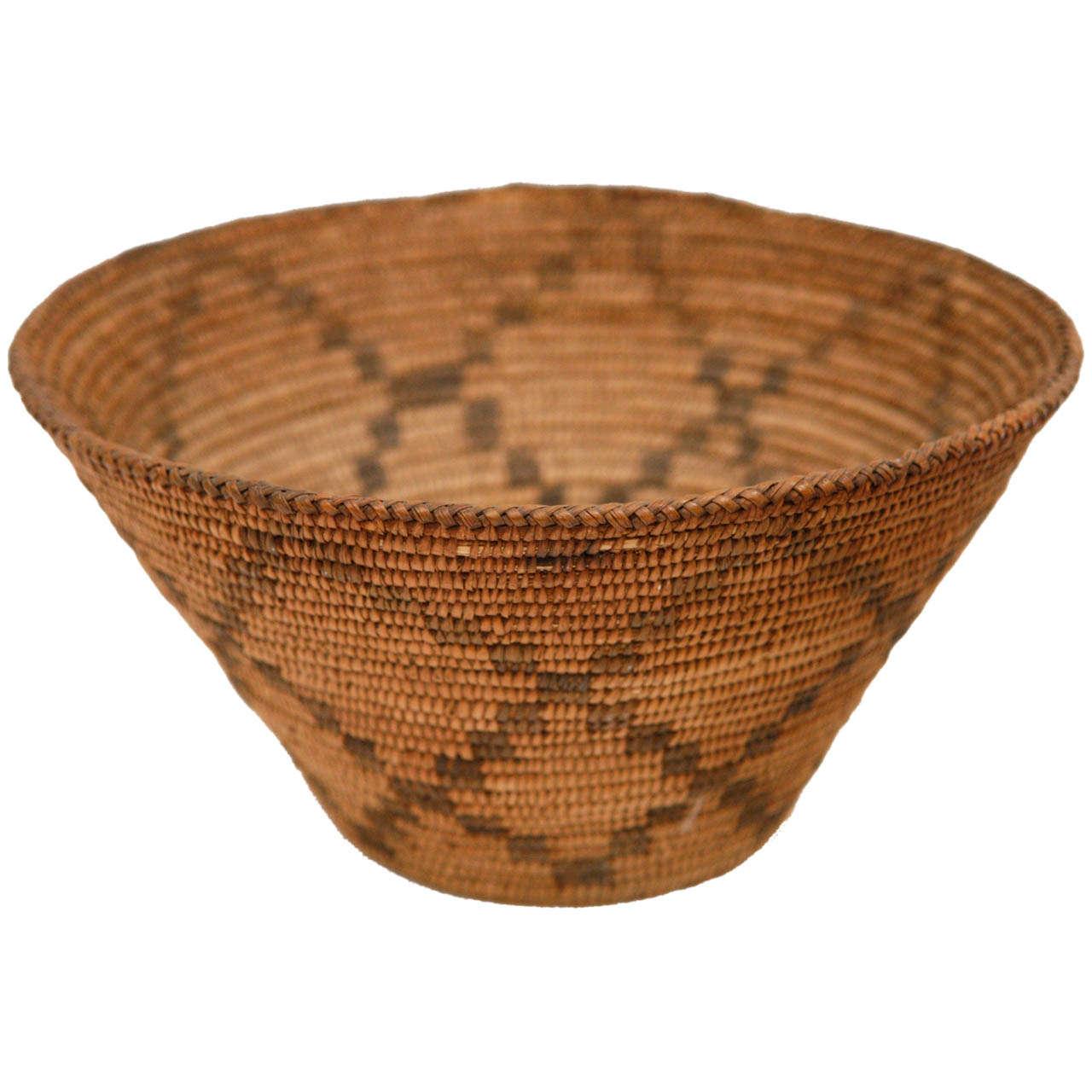 19th Century Apache Basket 1