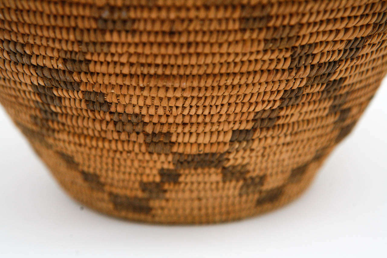 American 19th Century Apache Basket For Sale