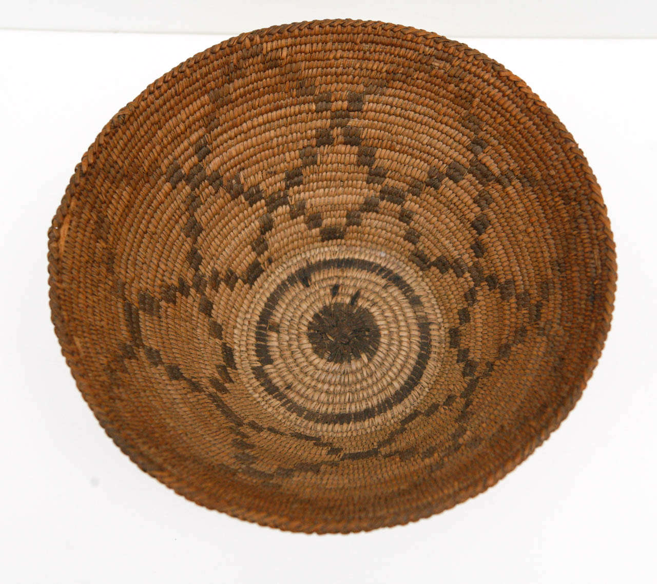 Hand-Crafted 19th Century Apache Basket For Sale