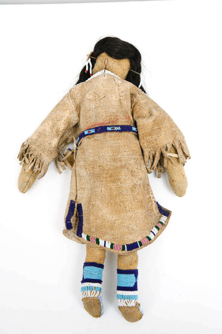 20th Century Plains Indian Female Doll For Sale At 1stdibs