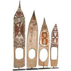 Single Wooden Telefomin Doorboards from Papua New Guinea