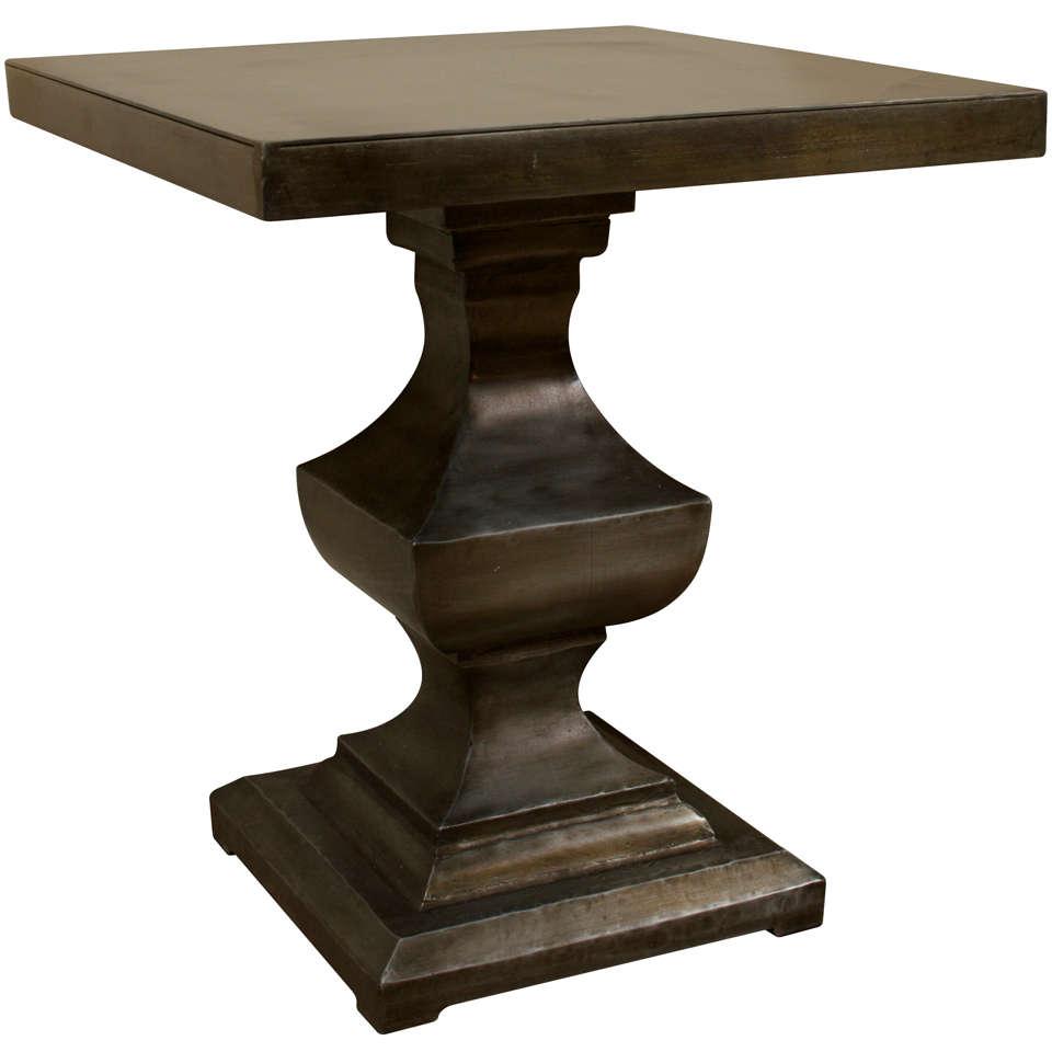 A zinc side table at 1stdibs : x from www.1stdibs.com size 960 x 960 jpeg 39kB