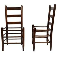 Pair of American Chairs