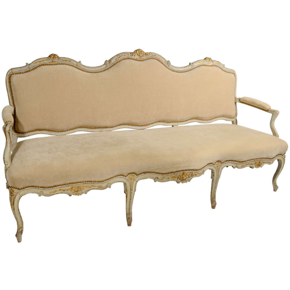 French settee for sale at 1stdibs for Settees for sale