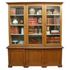 1880s Dutch Painted Bookcase