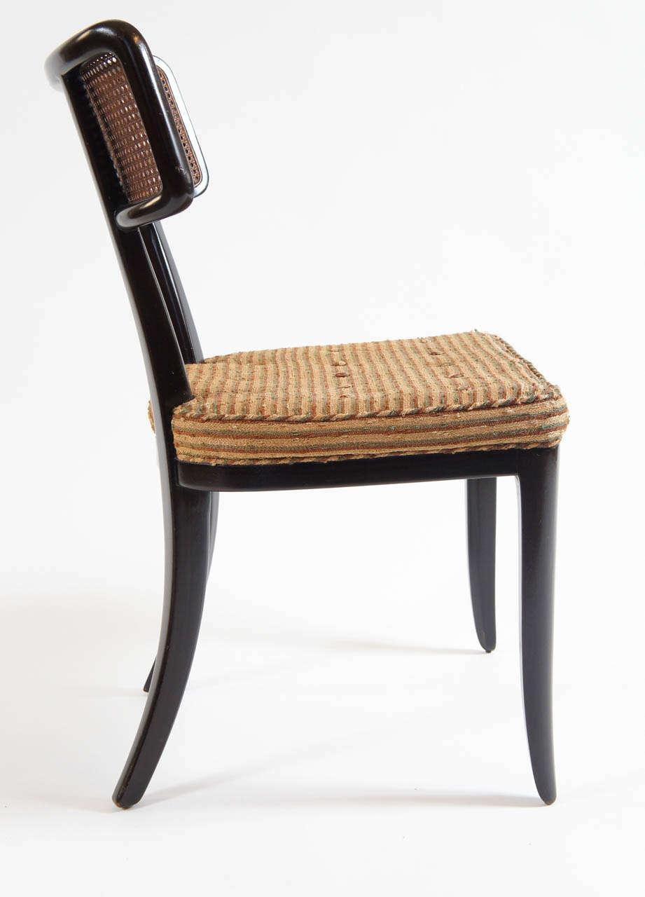 Set of dunbar edward wormley chairs c 1948 at 1stdibs - Edward wormley chairs ...