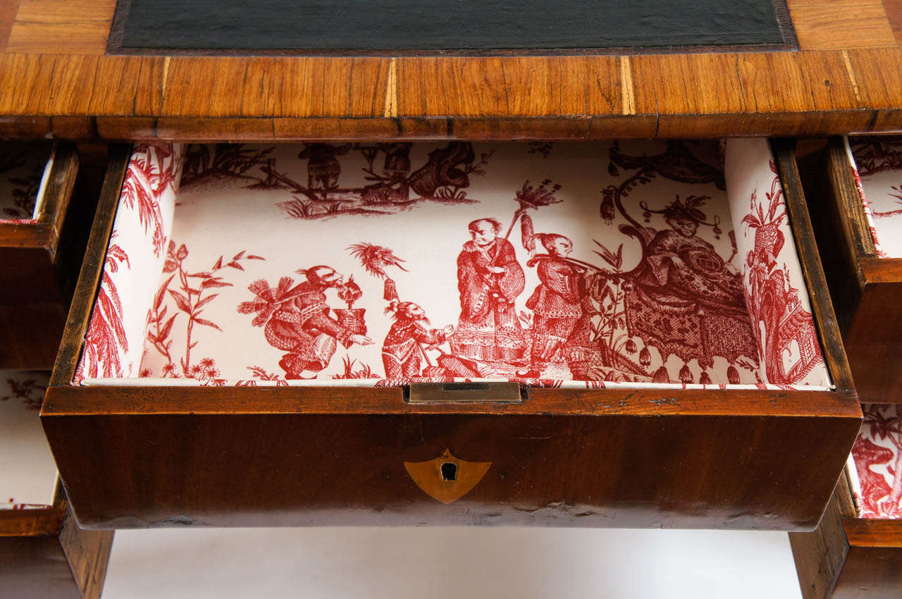 desk religious antiques double good tiger sided olde things antique pew oak church