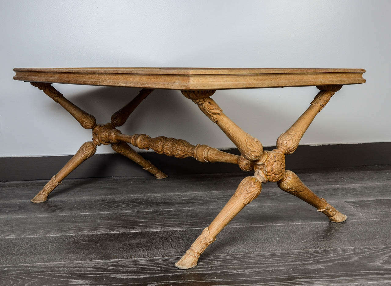 Jansen Coffee Table 1950s Jansen Coffee Table For Sale At 1stdibs