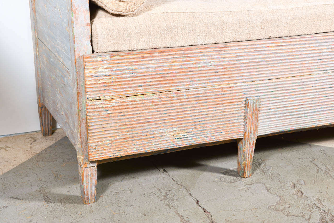 19th Century Swedish Bench For Sale