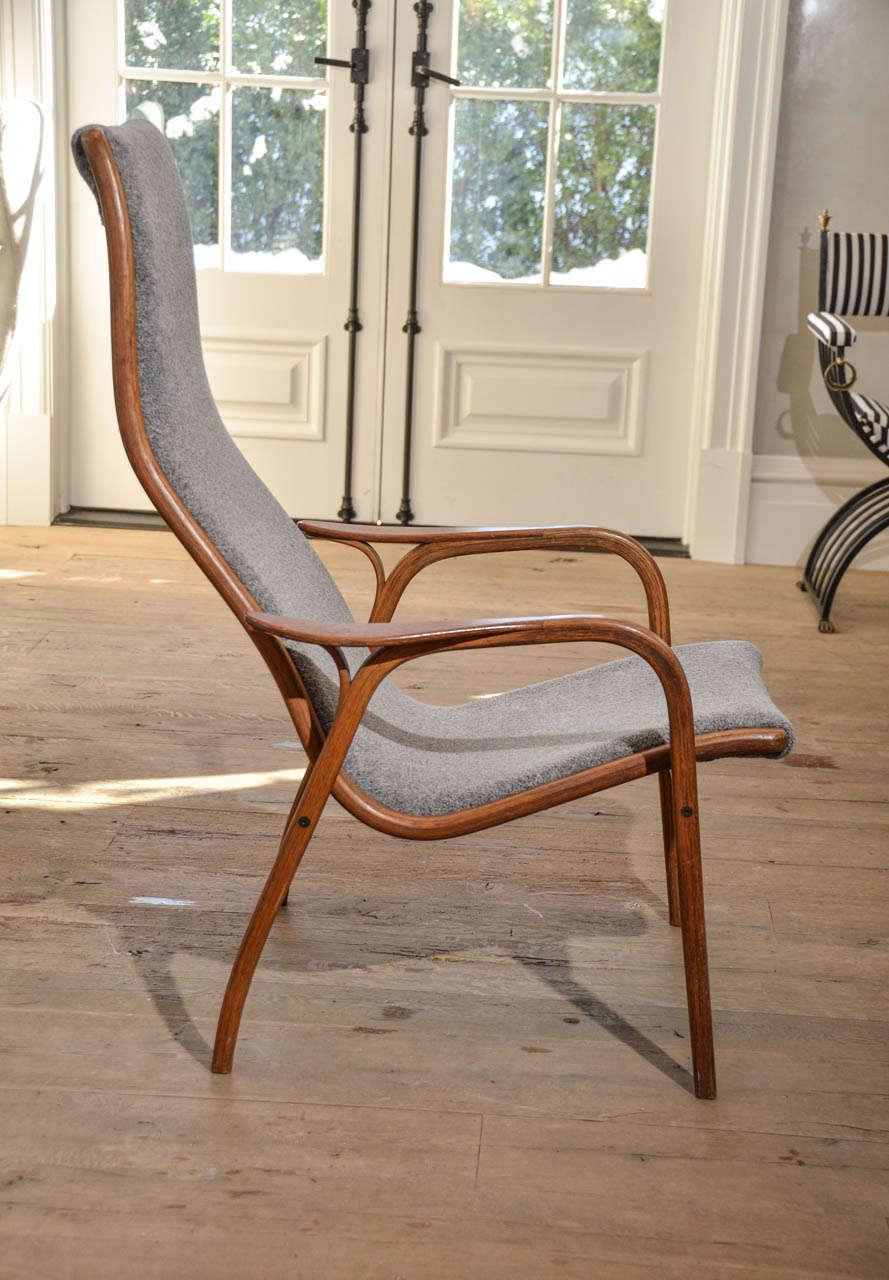 "Pair of Mid Century Swedish"" Lamino"" Highback chairs by Yngwe Eckstroem at 1stdibs"