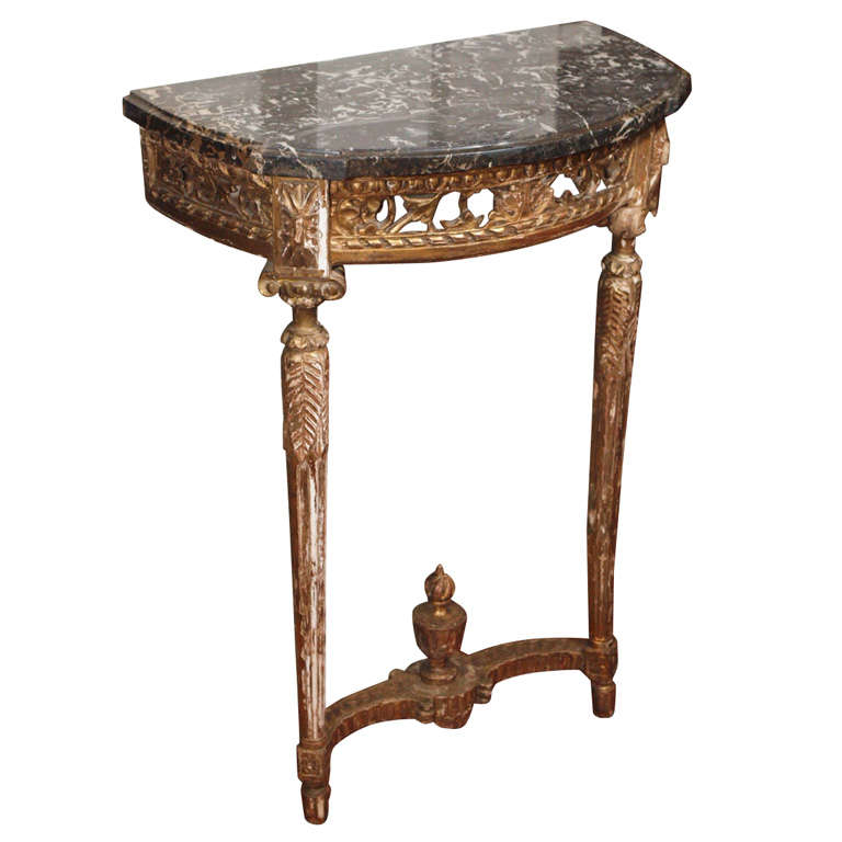 Louis XVI Giltwood Console At 1stdibs