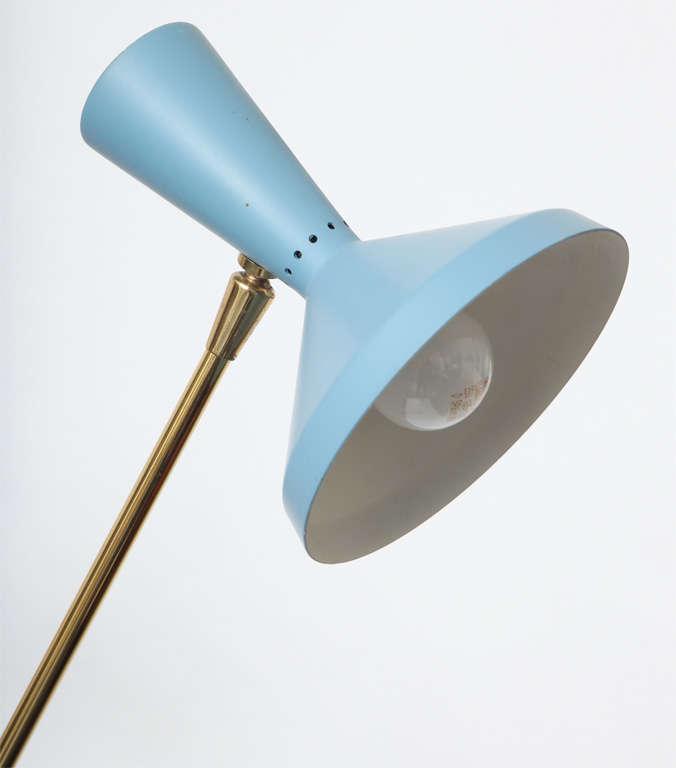 1950s Italian Articulated Floor Lamp by Stilnovo 7