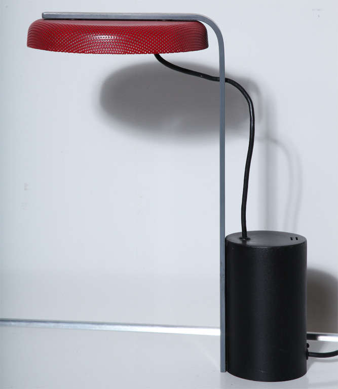 ron rezek 110 table lamp for sale at 1stdibs. Black Bedroom Furniture Sets. Home Design Ideas