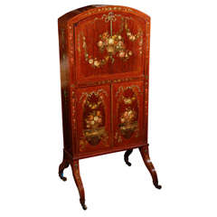 19th Century English Satinwood Writing Desk