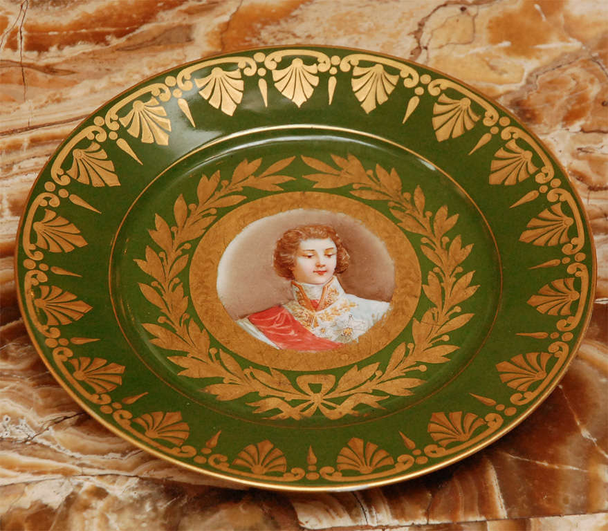 19th Century French Sevres Plates In Excellent Condition For Sale In Los Angeles, CA