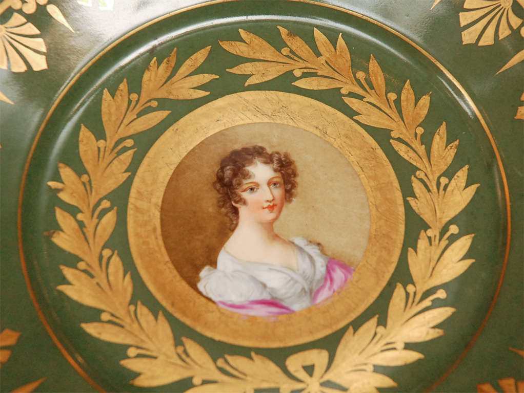 Porcelain 19th Century French Sevres Plates For Sale