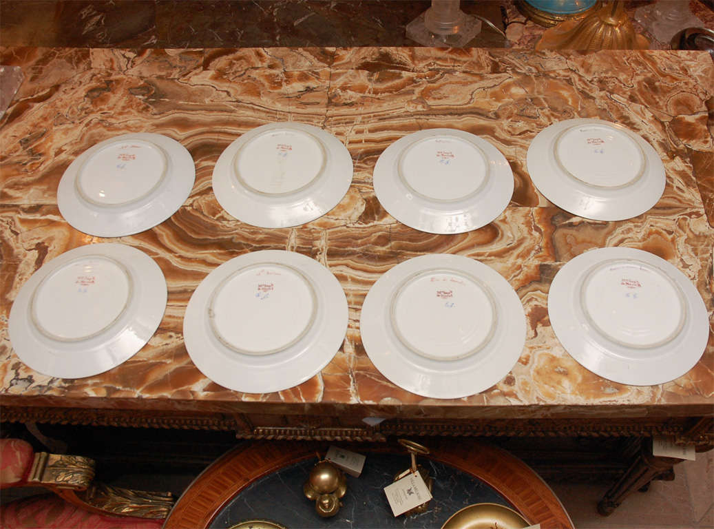 19th Century French Sevres Plates For Sale 1
