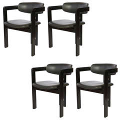 Set of Four Pamplona Dining Chairs by Augusto Savini