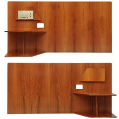 Pair Of Gio Ponti Headboards