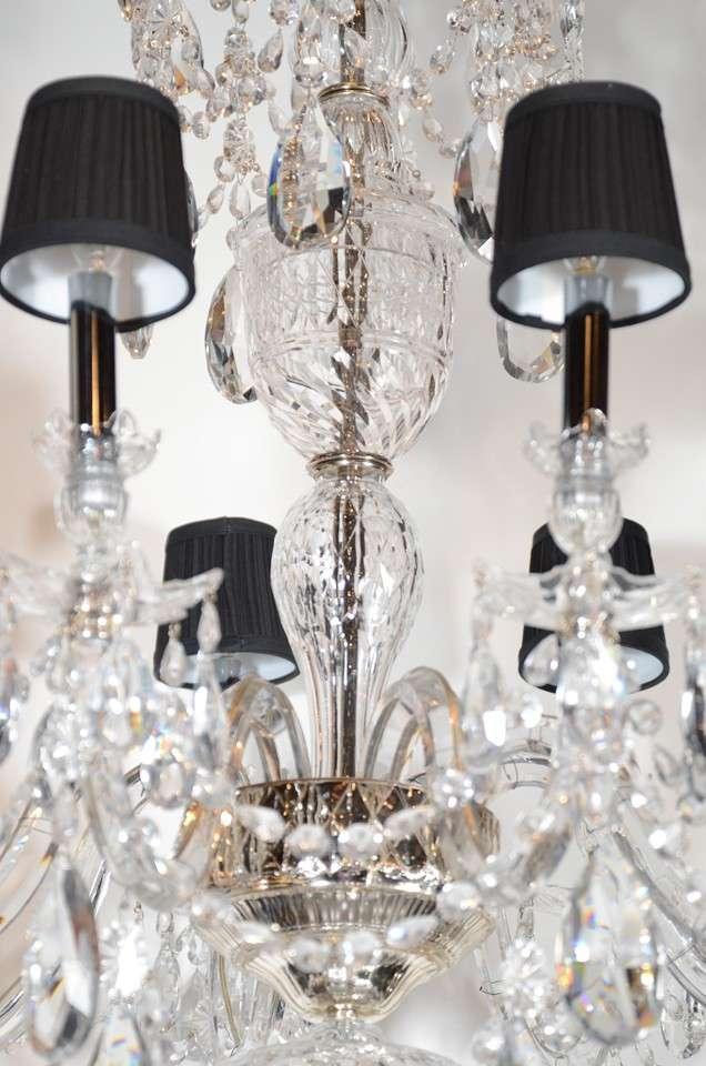 Majestic Impressive Baccarat Crystal Chandelier At 1stdibs