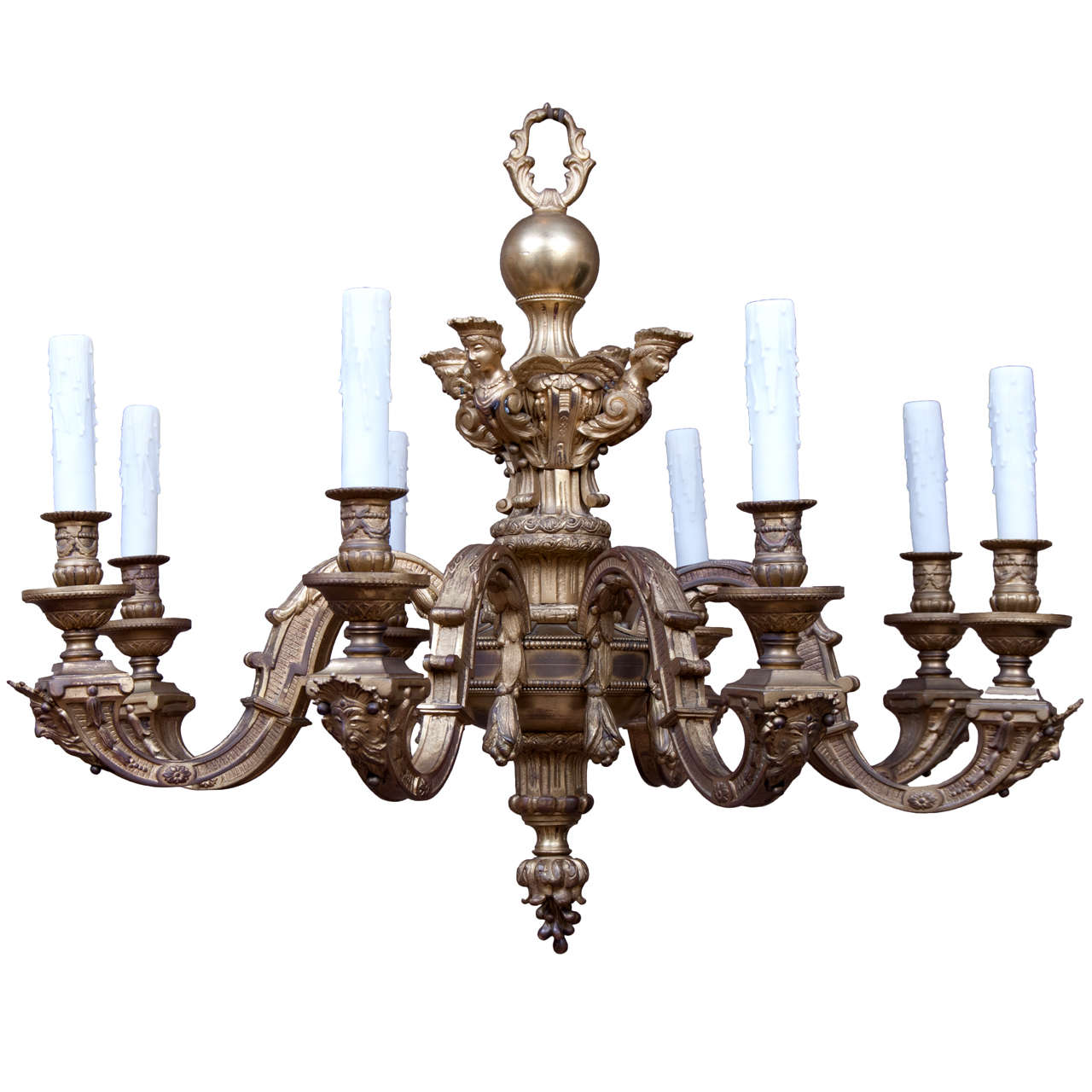 Baroque style chandelier at 1stdibs baroque style chandelier for sale aloadofball Image collections