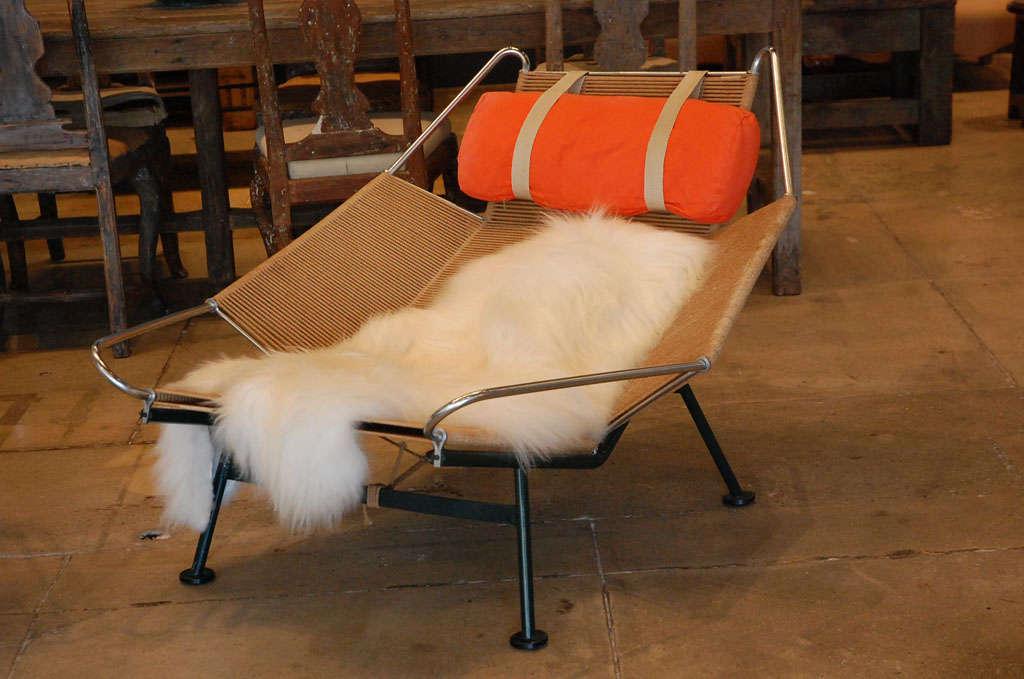 Danish Pair Of Hans Wegner 'halyard' Chairs , Denmark 1957