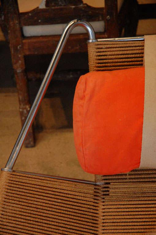 Rope Pair Of Hans Wegner 'halyard' Chairs , Denmark 1957
