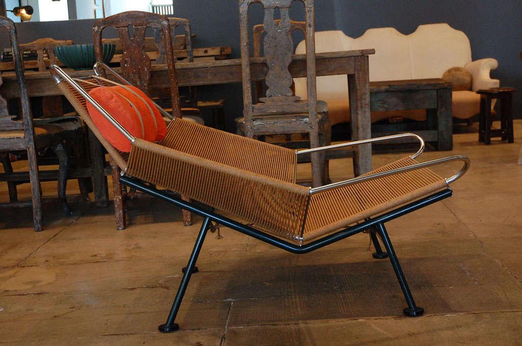 Pair Of Hans Wegner 'halyard' Chairs , Denmark 1957 2
