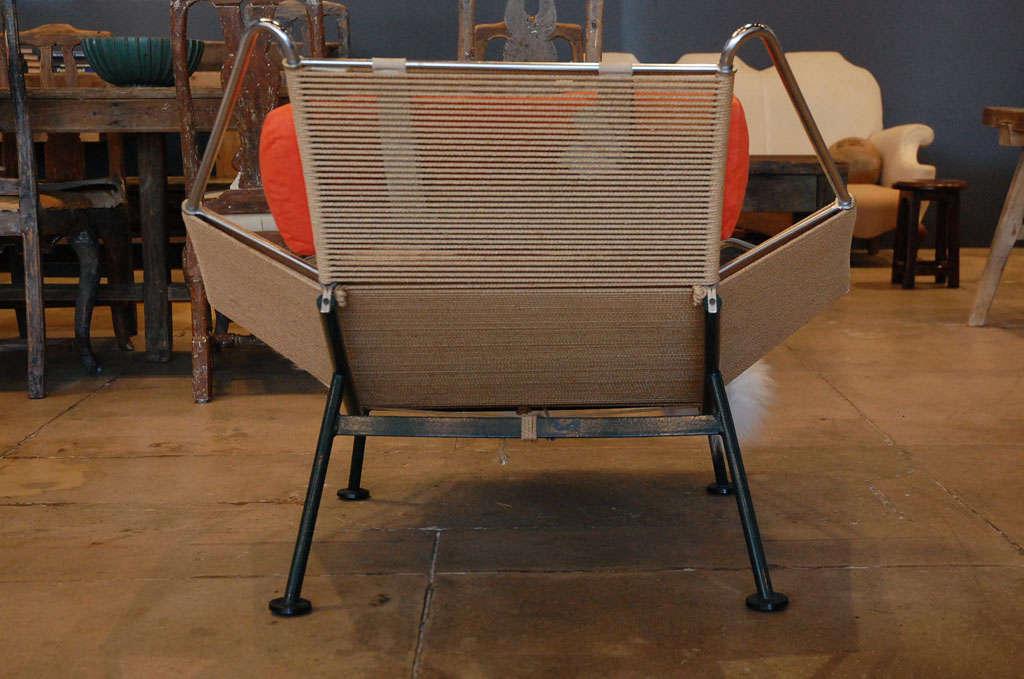 Pair Of Hans Wegner 'halyard' Chairs , Denmark 1957 4