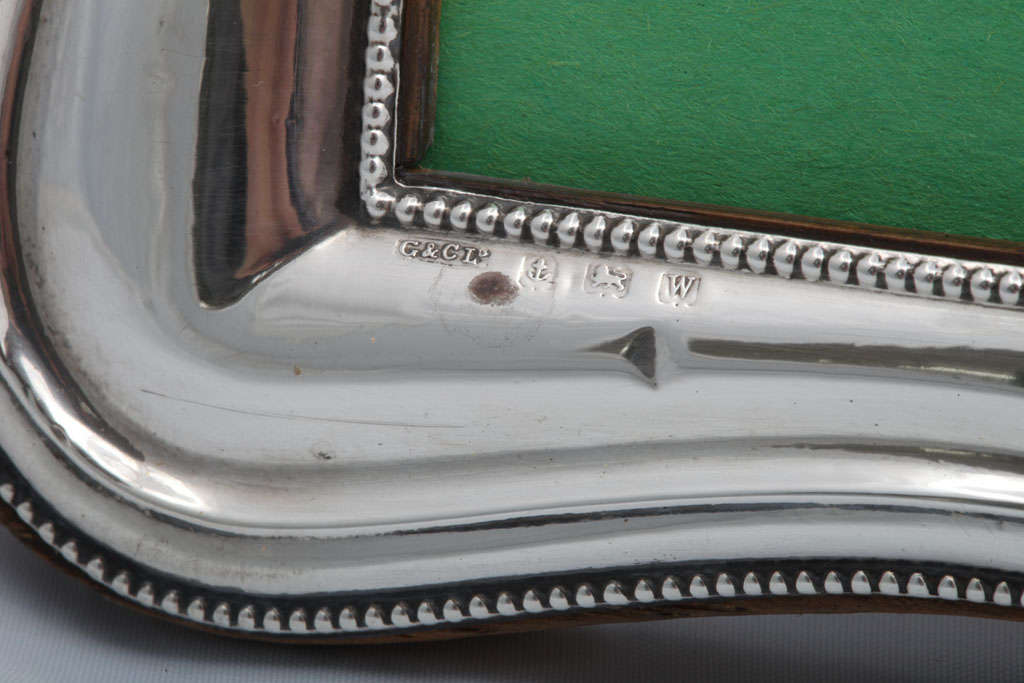 Early 20th Century Sterling Silver Picture Frame For Sale