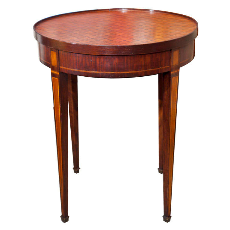 Round 19th century inlaid game table at 1stdibs for 11 x table games