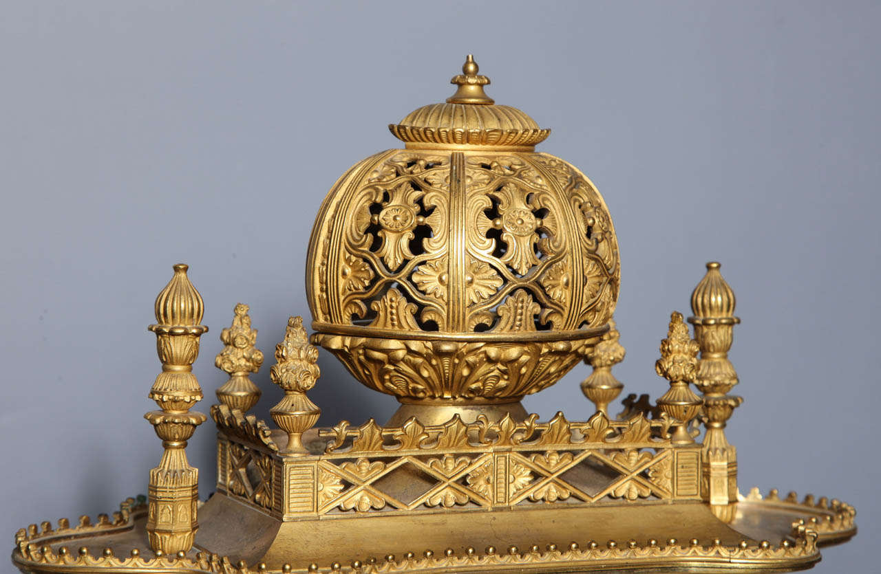 Important French Orientalist Jeweled Clock for Turkish Market, YSL Collection For Sale 1