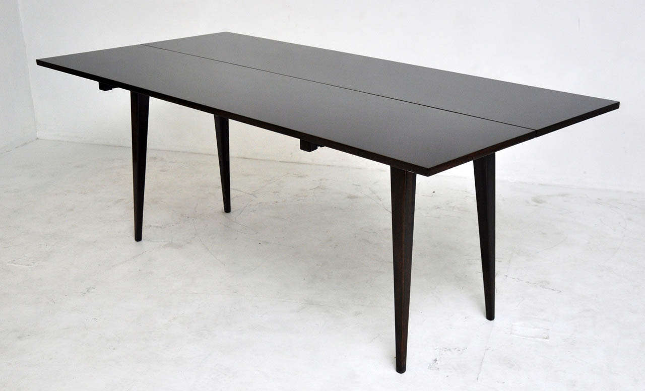 Dunbar Flip Top Dining Or Console Table By Edward Wormley At 1stdibs