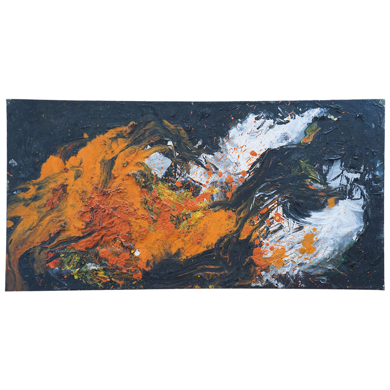 Abstract Painting by Linda Durian from 1960