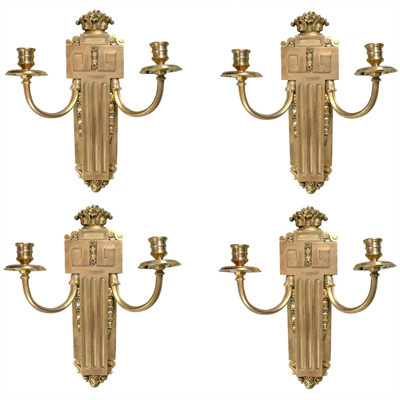 Pair of Neoclassical Style Caldwell Sconces