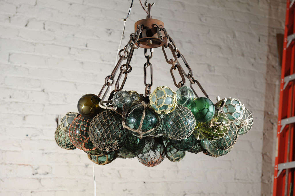 Custom Antique Anese Fishing Float