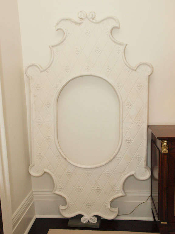 Two Enormous French Plaster Frames 2