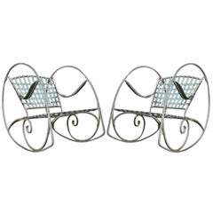 Pair Of French Rocking Chairs