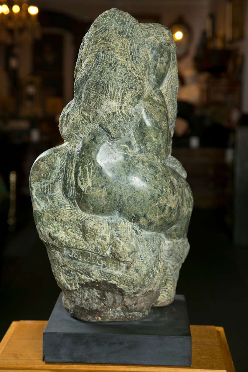 Mid-20th Century Marble Sculpture by Jose De Creeft,