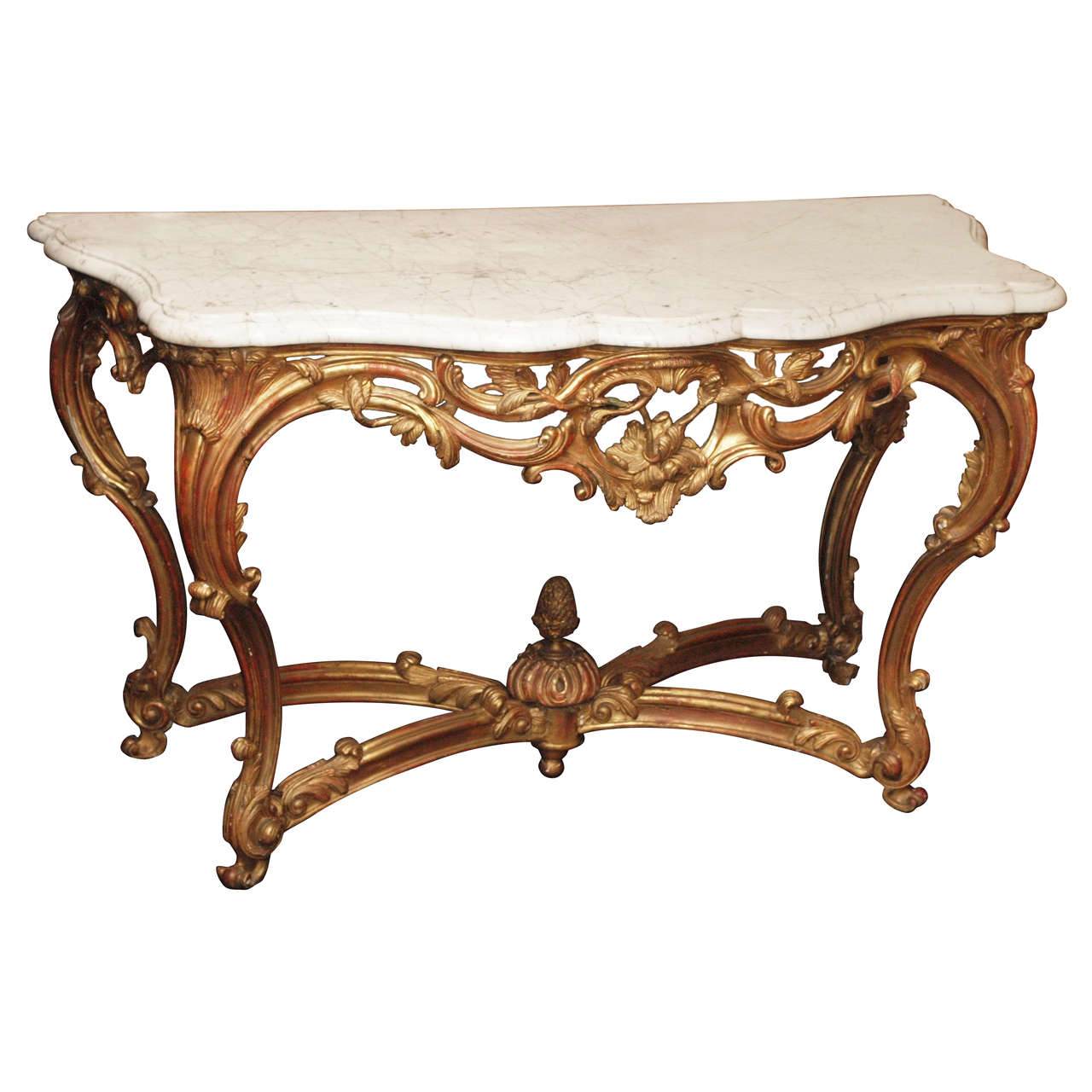 French Connection Gunmetal Coffee Table: Louis XVI French Gilt Wood And Marble Top Table At 1stdibs