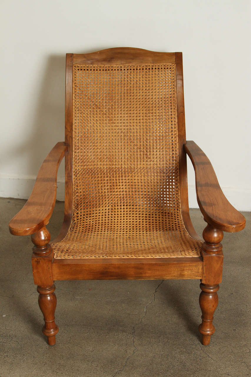 Astounding Anglo Indian Plantation Chair And Ottoman At 1Stdibs Dailytribune Chair Design For Home Dailytribuneorg